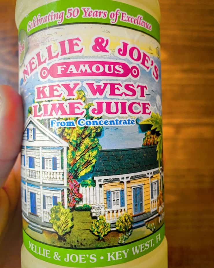 A picture of Nelly and Joe's Famous Key West Lime Juice bottle - it's a pantry superstar!