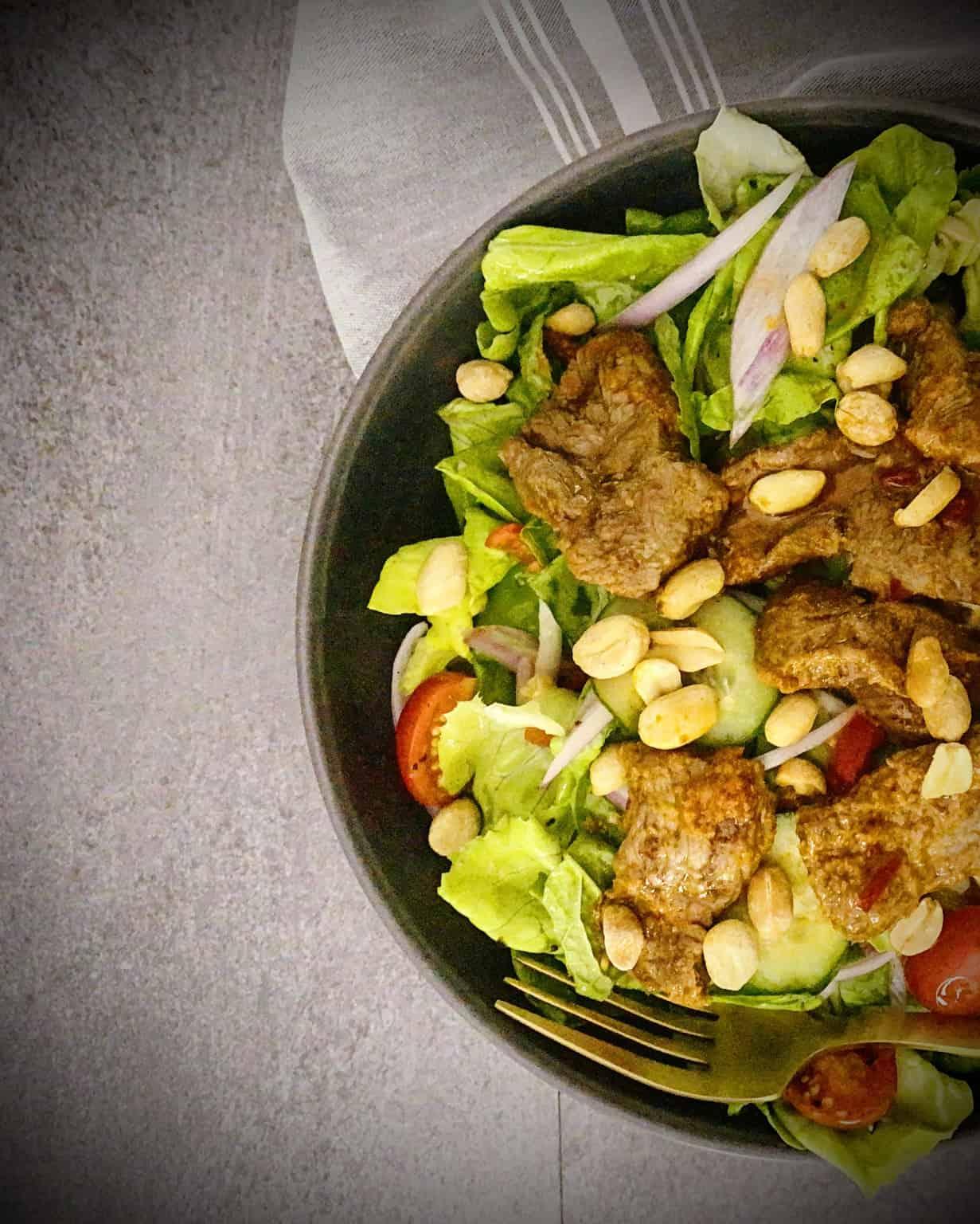Gobble's Spicy Thai Beef Salad