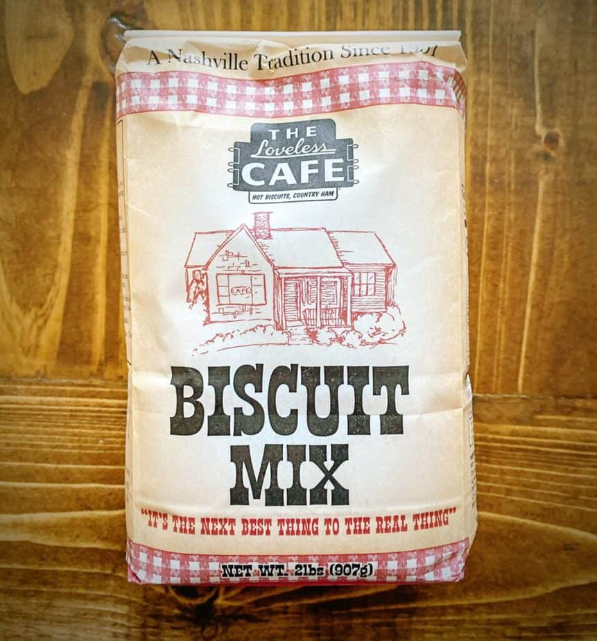 bag of loveless cafe's southern style biscuit mix
